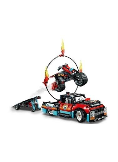 Lego Lego Technic Gösteri Kamyoneti ve Motosikleti Renkli